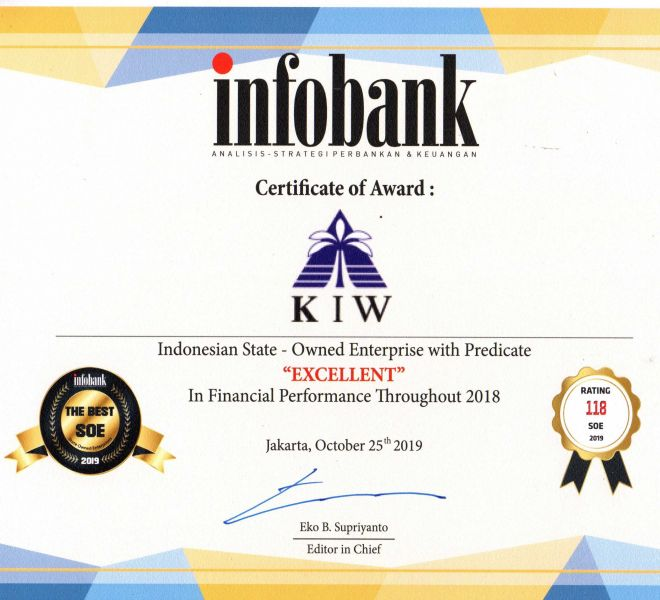 INFOBANK BUMN AWARD 2018