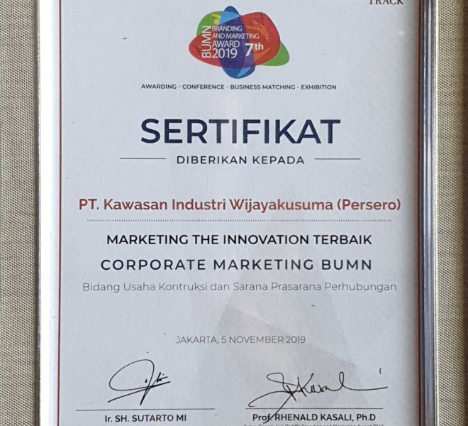 PT KIW BUMN Branding & Marketing Award 2019