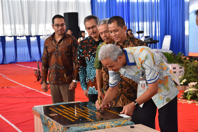 Peresmian BPSP 9 PT KIW Gubernur Jateng Ganjar Pranowo