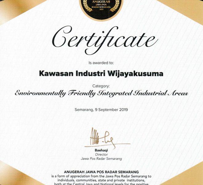 KIW Anugerah Jawa Pos Radar Semarang 2019