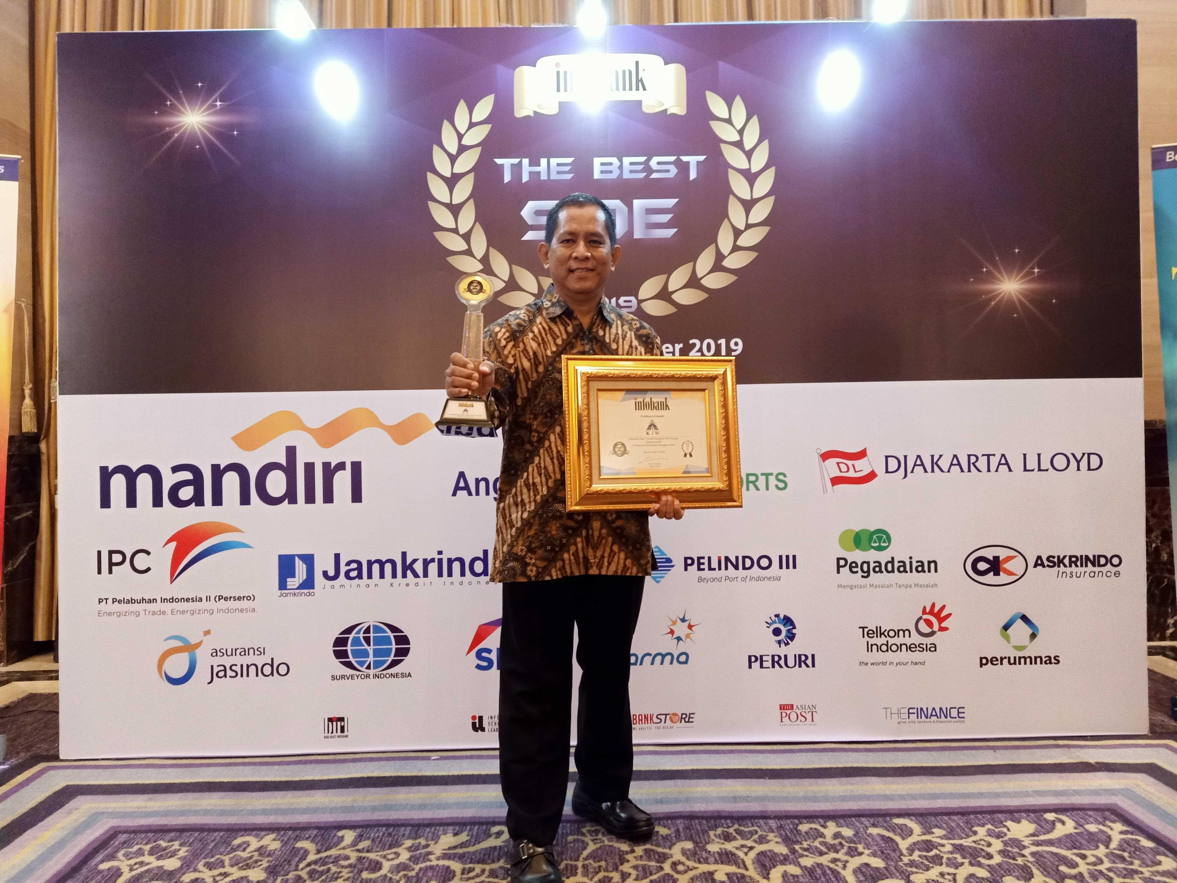 KIW infobank golden award