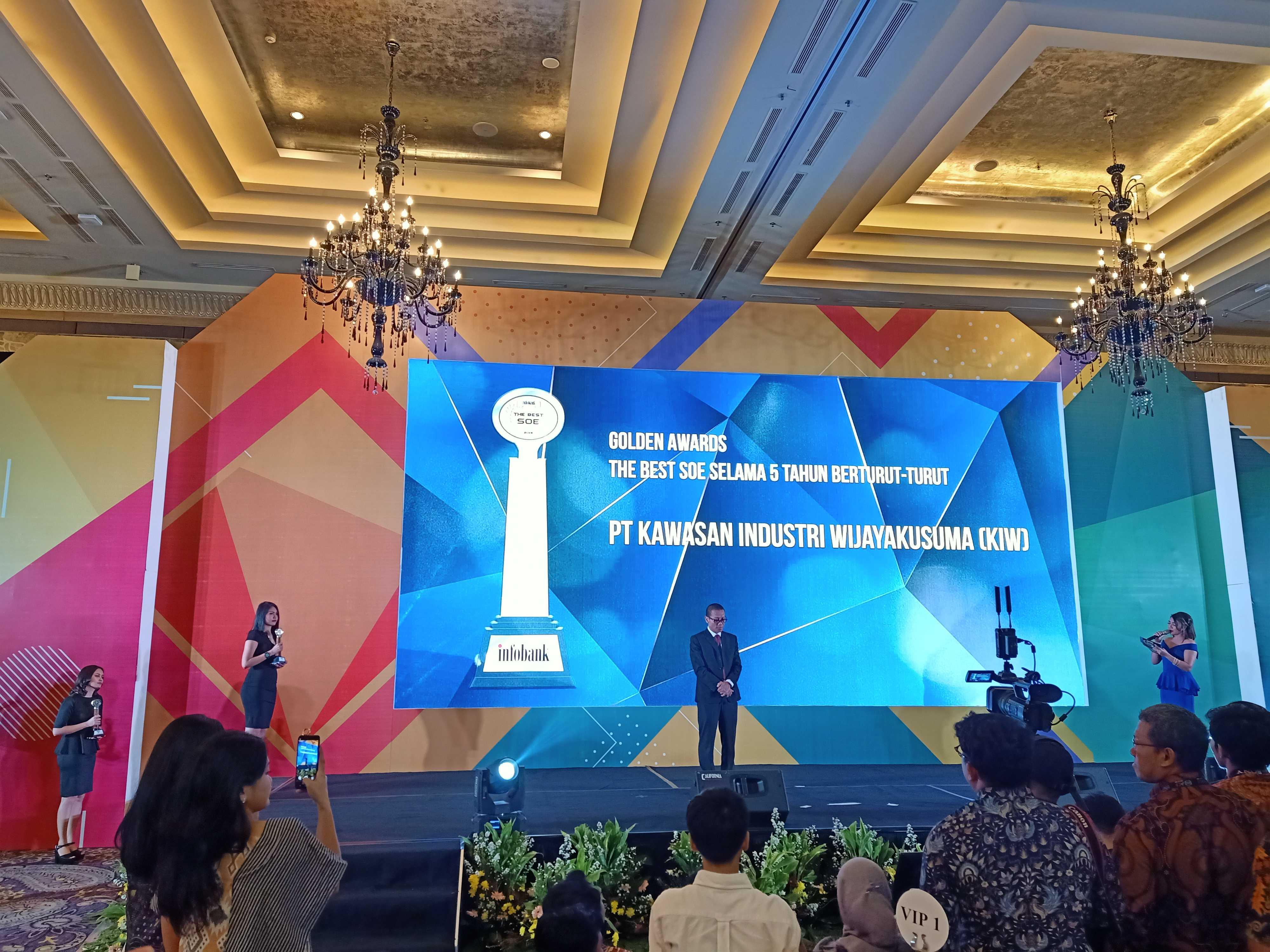 infobank golden award