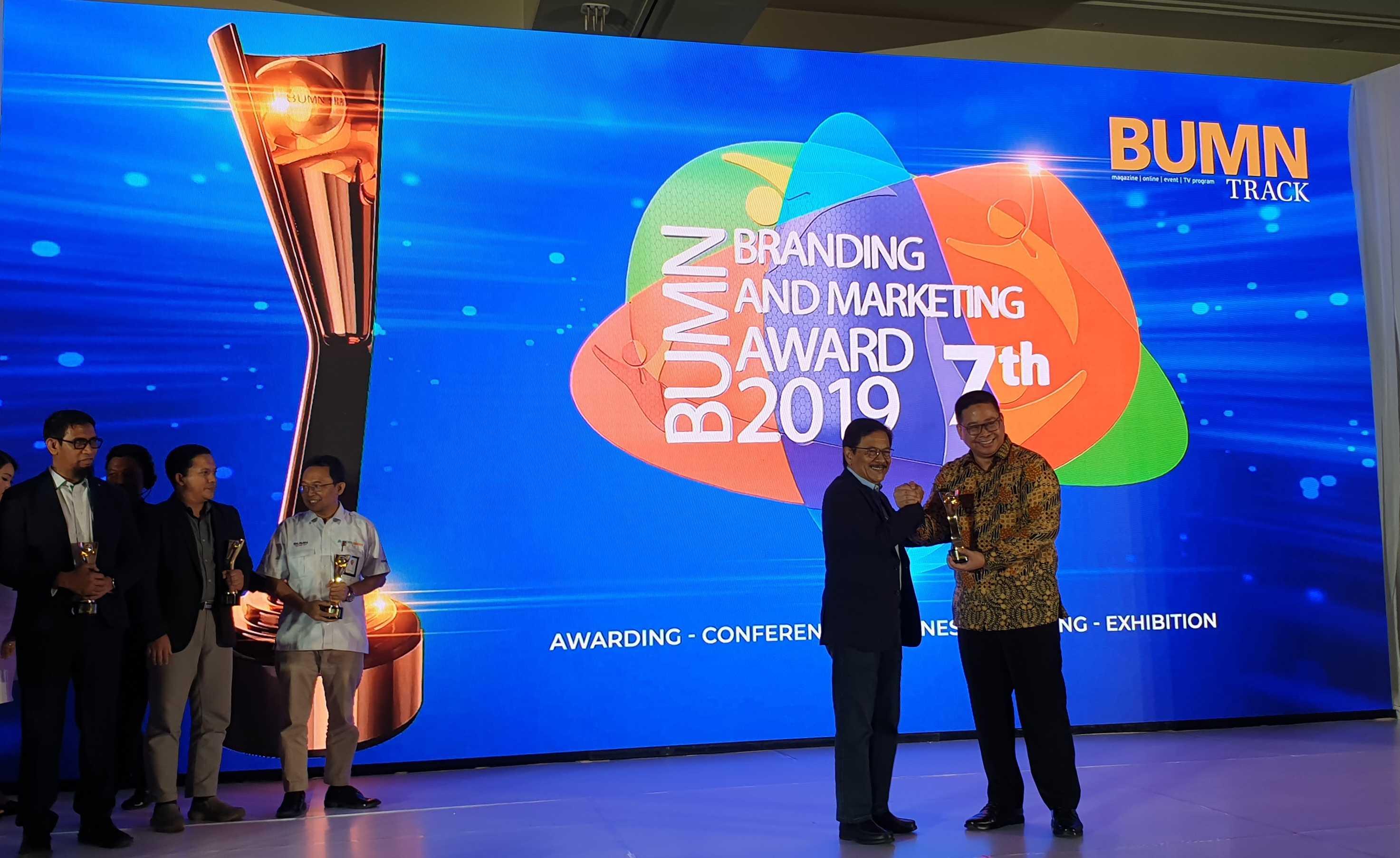 BUMN Branding & Marketing Award 2019 PT KIW