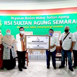 Bantuan Penanganan COVID-19 dari PT KIW (Persero) kepada RSI Sultan Agung Semarang